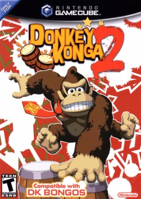Donkey Konga 2 Cover Art