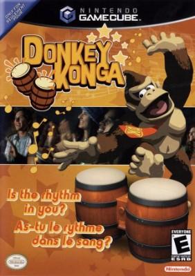Donkey Konga Cover Art
