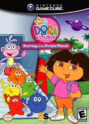 Dora the Explorer: Journey to the Purple Planet Cover Art