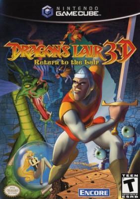 Dragon's Lair 3D Cover Art