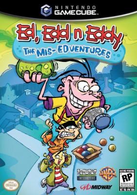 Ed, Edd n Eddy: The Mis-Edventures Cover Art