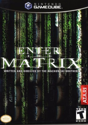 Enter the Matrix Cover Art