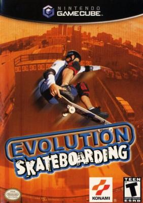 Evolution Skateboarding Cover Art