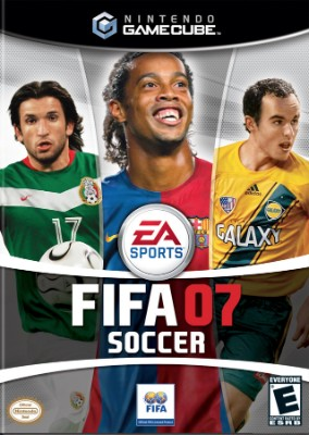 FIFA Soccer 07 Cover Art