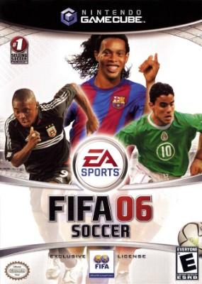 FIFA Soccer 06 Cover Art