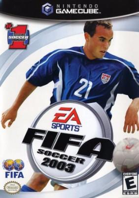 FIFA Soccer 2003 Cover Art