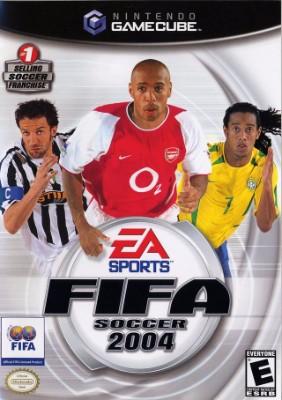 FIFA Soccer 2004 Cover Art