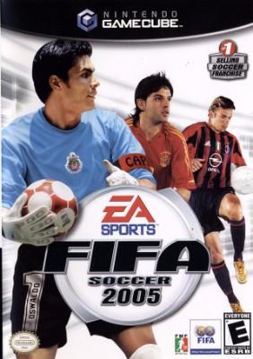 FIFA Soccer 2005 Cover Art