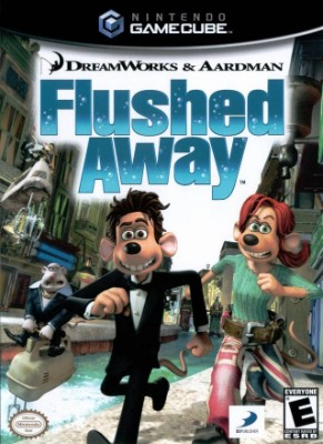 Flushed Away Cover Art