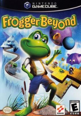 Frogger Beyond Cover Art