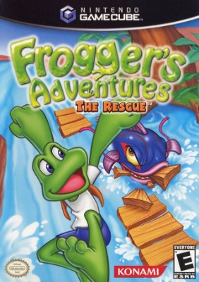 Frogger's Adventures: The Rescue Cover Art