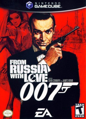007: From Russia With Love Cover Art