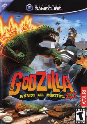 Godzilla: Destroy All Monsters Melee Cover Art