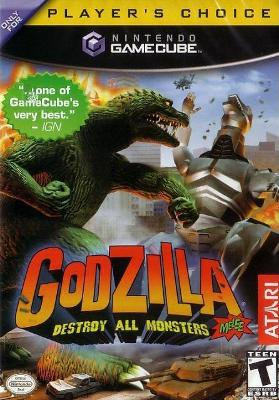 Godzilla: Destroy All Monsters Melee [Player's Choice] Cover Art