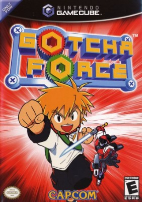 Gotcha Force Cover Art