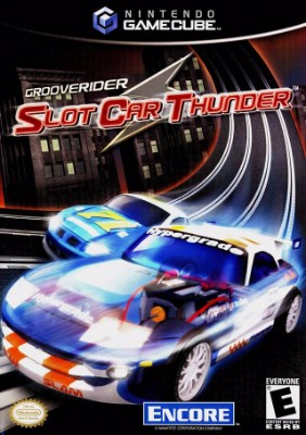 Grooverider Slot Car Thunder Cover Art