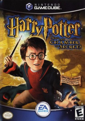 Harry Potter and the Chamber of Secrets Cover Art