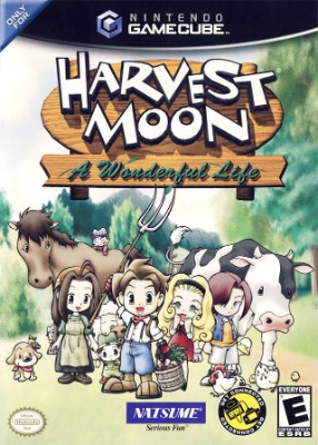Harvest Moon: A Wonderful Life Cover Art