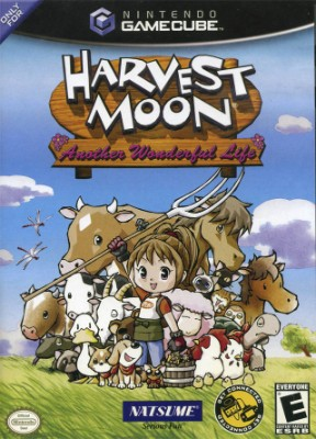 Harvest Moon: Another Wonderful Life Cover Art