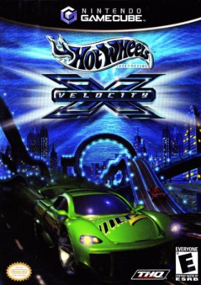 Hot Wheels: Velocity X Cover Art