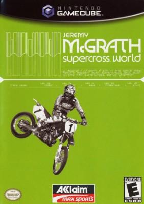 Jeremy McGrath Supercross World Cover Art