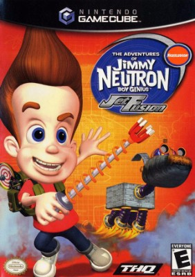 Jimmy Neutron Boy Genius: Jet Fusion Cover Art
