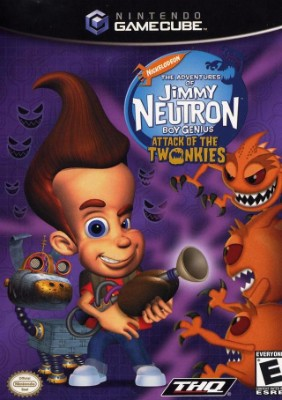 Jimmy Neutron Boy Genius: Attack of the Twonkies Cover Art