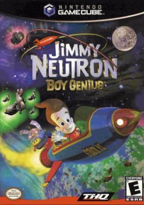 Jimmy Neutron Boy Genius Cover Art