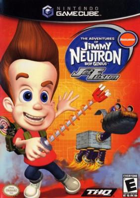 Jimmy Neutron Boy Genius: Jet Fusion Cover Art