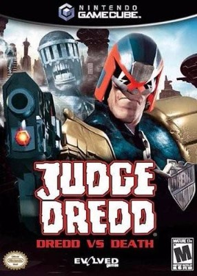 Judge Dredd: Dredd VS Death Cover Art