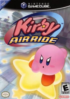 Kirby Air Ride Cover Art