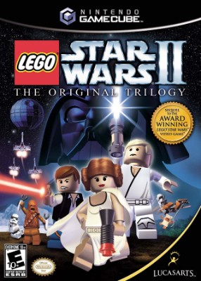 Lego Star Wars II: The Original Trilogy Cover Art