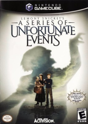 Lemony Snicket's: A Series of Unfortunate Events Cover Art