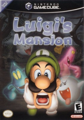 box cover art for Luigi's Mansion