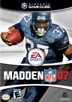 Madden NFL 07 Cover Art