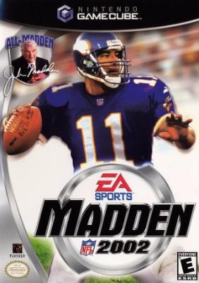 Madden NFL 2002 Cover Art