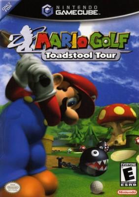Mario Golf: Toadstool Tour Cover Art