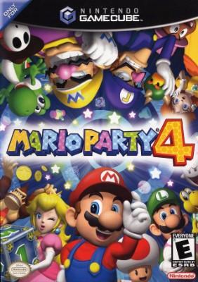 Mario Party 4 Cover Art