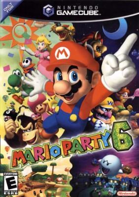 Mario Party 6 Cover Art