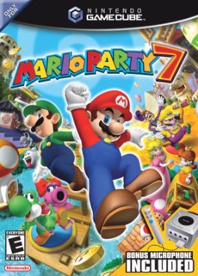 Mario Party 7 Cover Art