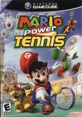 Mario Power Tennis Cover Art