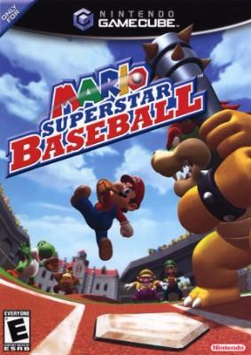 Mario Superstar Baseball Cover Art