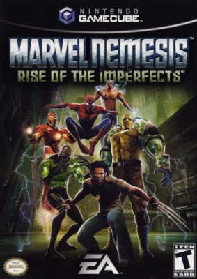 Marvel Nemesis: Rise of the Imperfects Cover Art