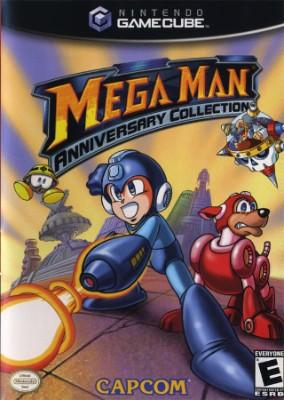 Mega Man Anniversary Collection Cover Art