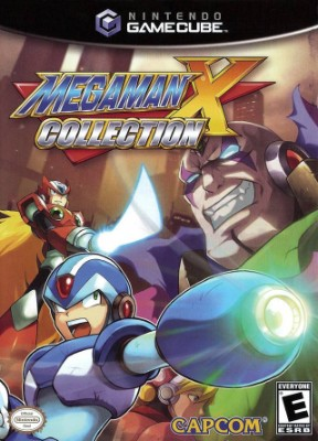 Mega Man X Collection Cover Art