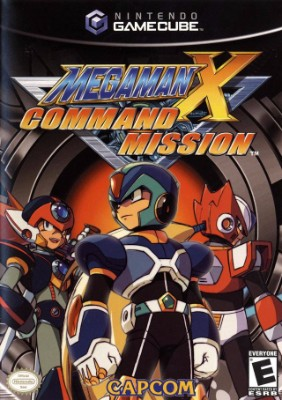 Mega Man X: Command Mission Cover Art