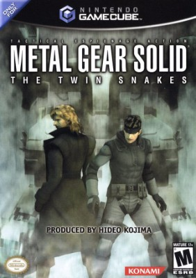 Metal Gear Solid: The Twin Snakes Cover Art