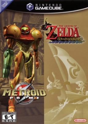 Metroid Prime / Legend of Zelda: Wind Waker Combo Cover Art