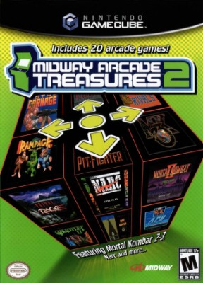 Midway Arcade Treasures 2 Cover Art