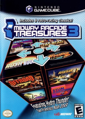 Midway Arcade Treasures 3 Cover Art